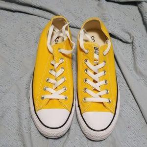 Lemon Yellow Low Top Converse